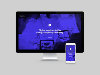 adaptable site refresh home hero web clean simple responsive adaptable studio birmingham