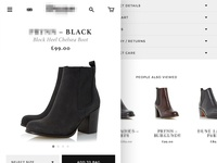 eCommerce Mobile Site