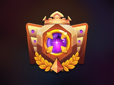Rank System Badge graphic design crypto gamification game loyalty programm ranking system rank icon 3d design illustration client work