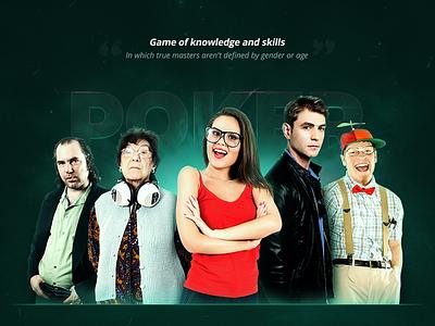 Poker Crew - Amblem card chip sit  go tournaments star dust glow crew people poker amblem