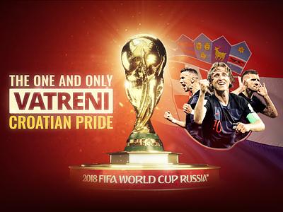 Vatreni Dribbble winners flag hrvatska hns luka modric luka modrić trophy vatreni russia 2018 cup world fifa croatia