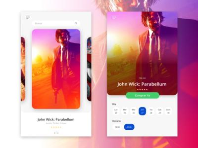 App Design - Movie Card