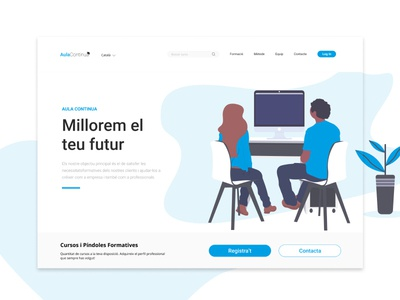 Landing Page - Empresa de Formación