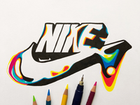 Nike Logo Distortion