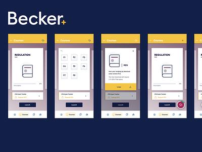Download Manager Concept manager download mock-ups dashboard design learning app lms concept download mock-up download mobile ui mobile app