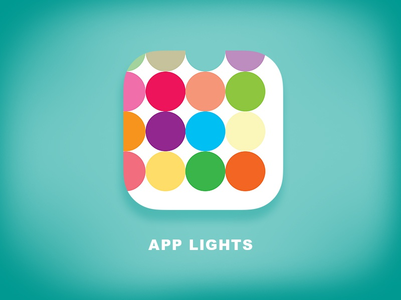 Daily UI 005 - App Icon colorful dots iphone appicon icon app dailyui005 dailyui