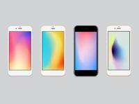 iPhone X Wallpaper Set