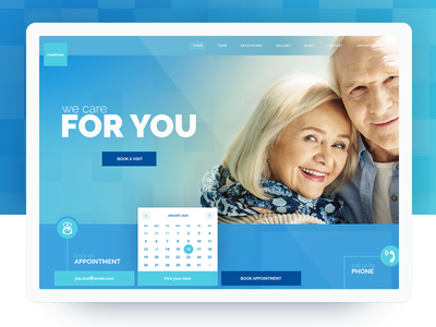 Mediveo - Medical Clinic & Hospital Services Homepage