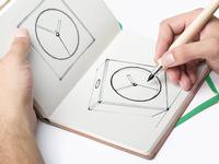 3D Clock Sketch