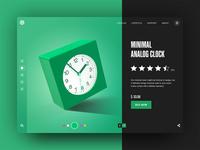 Minimal Analog Clock