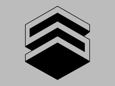 Lettermark S ui design graphic  design illustration vector debut typography lettermark lettering font design branding 36daysoftype logo design logo branding