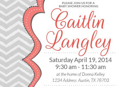 Caitlin shower invite dribbble