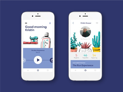 Ongo App Screens startup profile illustration graphic design design ui ux mobile app