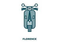 City Transportation Illustration: Florence