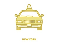 City Transportation Illustration: New York