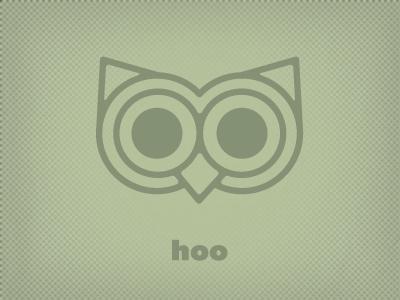 Woo...*hoo* owl illustration debut animal green texture