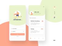 Gym subscription app