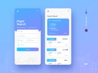Mile flight search app!