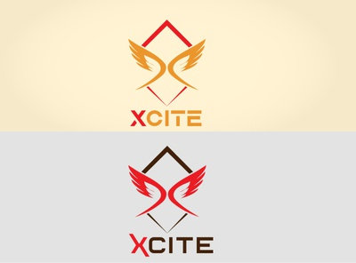 xcite branding vector logo design minimalist logo minimalistic graphic design play game logo game design