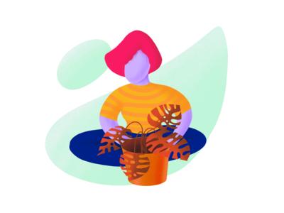 Plant series : monstera