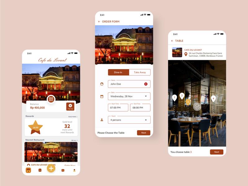#exploration Mobile UI Restaurant Booking concept ui clean uiux design restaurant app restaurant booking mobile app design mobile ui