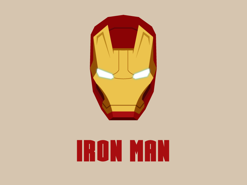 Iron Man Logo Vector Awesome Graphic Library