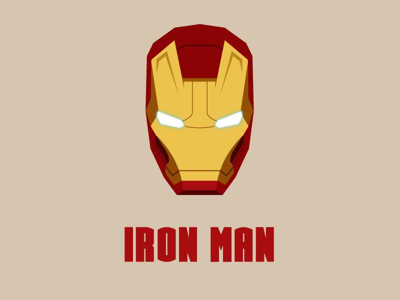 iron man vector editionmathieu hervouët - dribbble