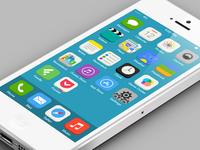 iOS 7 Flat Redesign