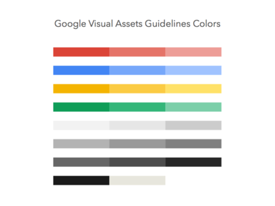 [Freebie] Google Guidelines Colors