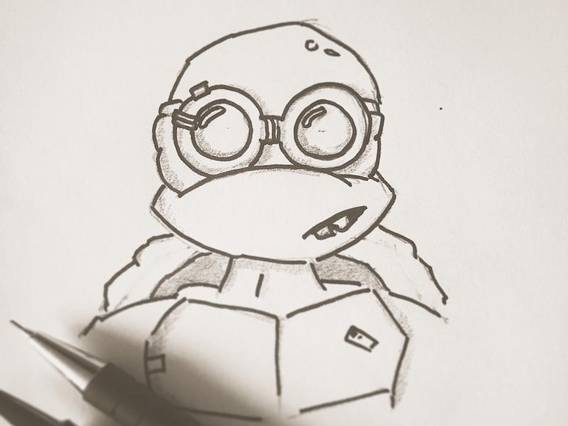 Donatello sketch donatello tmnt sketch draw comics