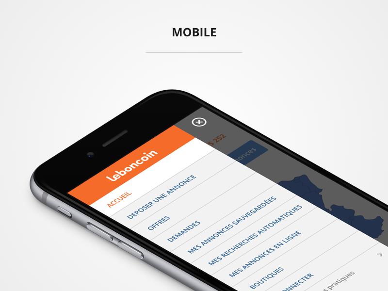 leboncoin 2016 sketch web menu mobile leboncoin responsive redesign
