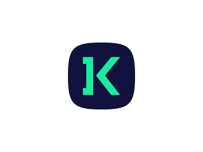 Logo:] + < = K, a computer program management system logo ui brand branding logo