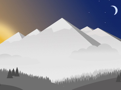 Mountain in Progress