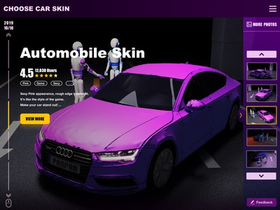 Car skin design