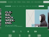 Global Hack Weekend - Landing Screen