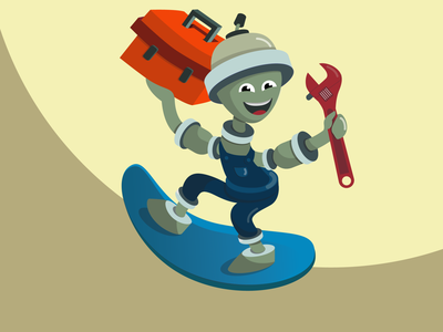 Character for plumbing and heating services