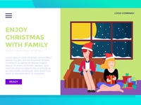 Landing Page enjoy Christmas With Family