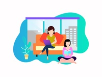 handle office work at home
