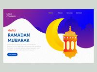 Hello ramadan landing page