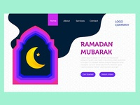 bulan ramadan landing page