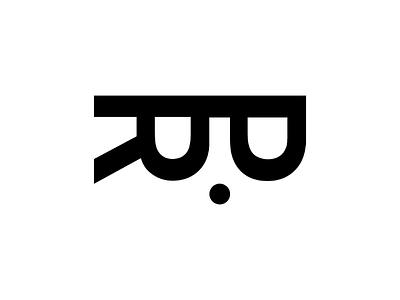 RP lettermark logogram branding design simple logotype logo