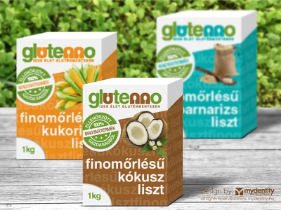 Glutenno glutenfree product range branding branding packaging product glutenfree