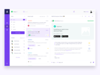 Amber's Task management desktop app desktop task management design app ux ui