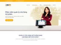 FUNI POS - Point of Sale's product website sale management business devices point of sale website ux ui