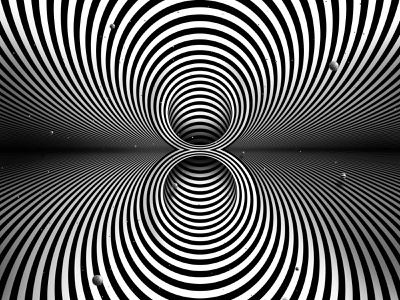 Eight planets and infinity trippy number visual effect abstract geometry cosmic abstraction optical illusion op art geometrical type black white space hypnotic kinetic typography graphic design opart letter 8 36days 36daysoftype-8 36daysoftype07 36daysoftype