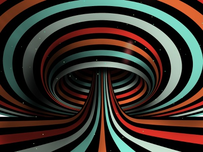 Cosmic mushroom mushroom illustration space trippy hypnosis hypnotic texture background striped abstract geometrical geometric abstraction geometry kinetic optical illusion op art color graphic design visual effect