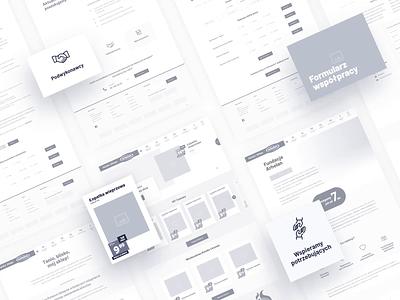 Arhelan - Grocery store🍅 ▪  Wireframes / UX&UI website design aftereffects animation website ui webdesign ux uiux design project