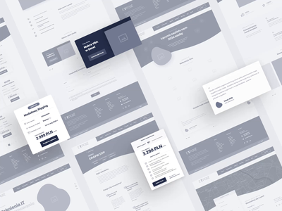 Expose - IT training💻 ▪ Wireframes / UI&UX wireframe design wireframes website design animation website webdesign ux uiux ui design project