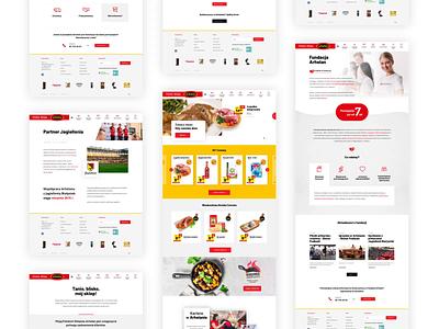 Arhelan - Grocery store🍅 aftereffects website design animation website webdesign ux ui uiux design project