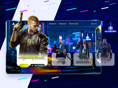 PlayStation Games Dashboard Concept 2019